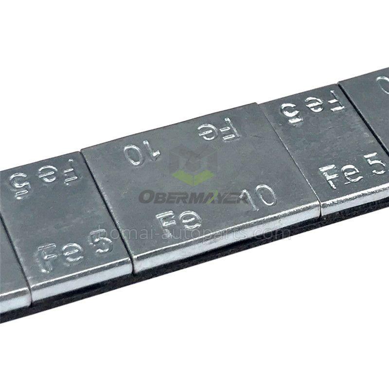 Zinc plated steel wheel balance weight (5+10) g*4 segments right angle