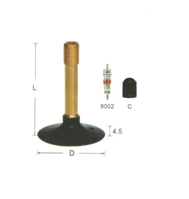 TR202S-42L tire valve